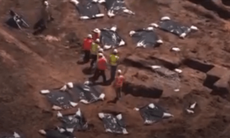 Mass Grave Uncovered With Almost 100 Black Bodies On Construction Site Presumed To Be That Of Slaves