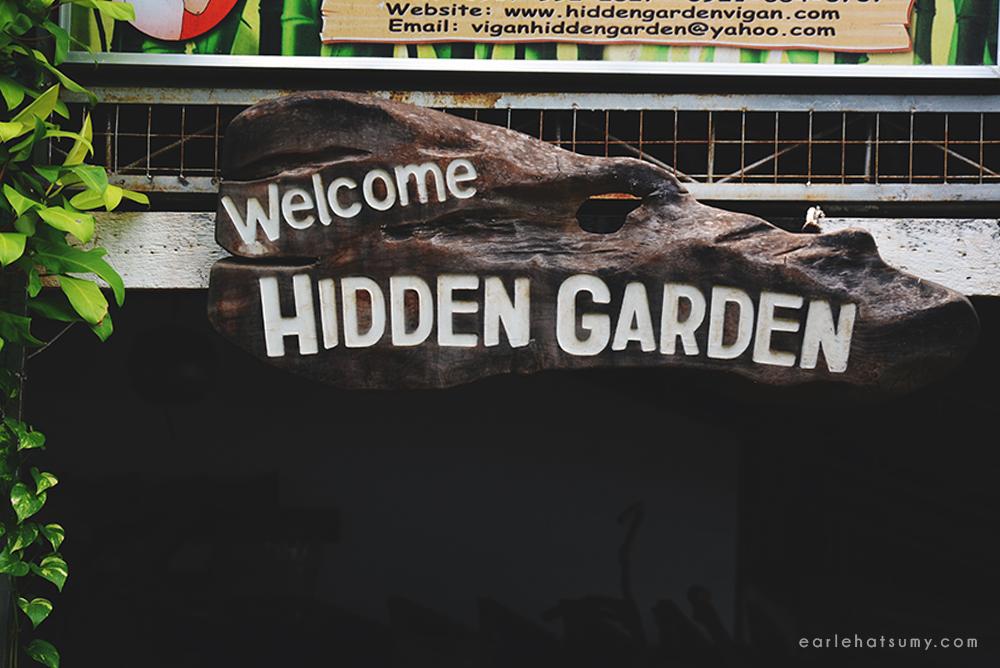 hidden garden vigan