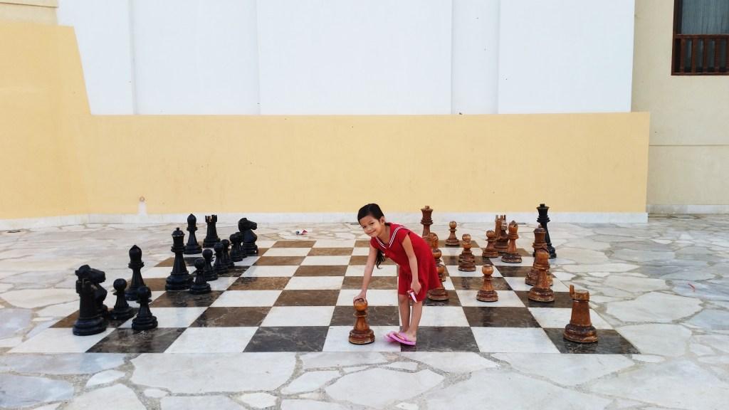 Walk in chessboard