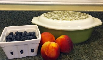Cobbling Together Dessert: Blueberry-Peach Browned Butter Cobbler