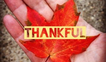 Scripture and a Song: Thankful
