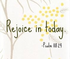 5 Ways to Rejoice in Today