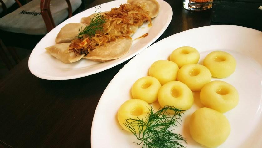 Polish dumplings - Pierogies and Kluskis