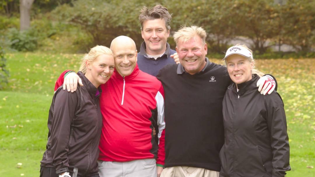 Martin, Børge, Morten, Erik og Gisle