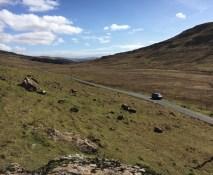 Mull empty road