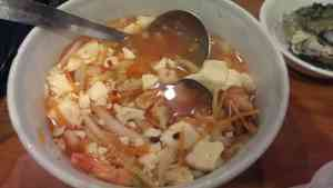 Seafood Spicy Soft Tofu Soup