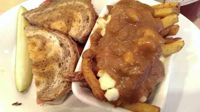 Reuben sanwich