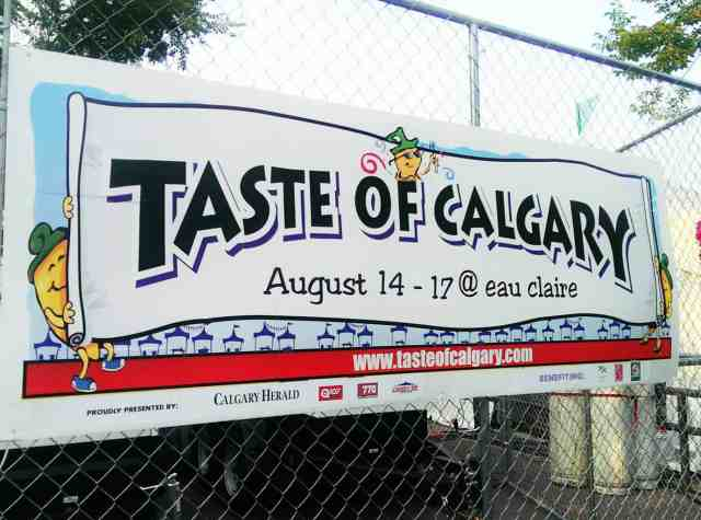 taste of calgary alberta