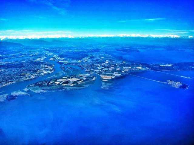 North America west coast islands