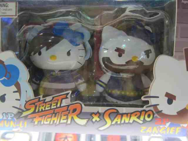 hello kitty street fighters