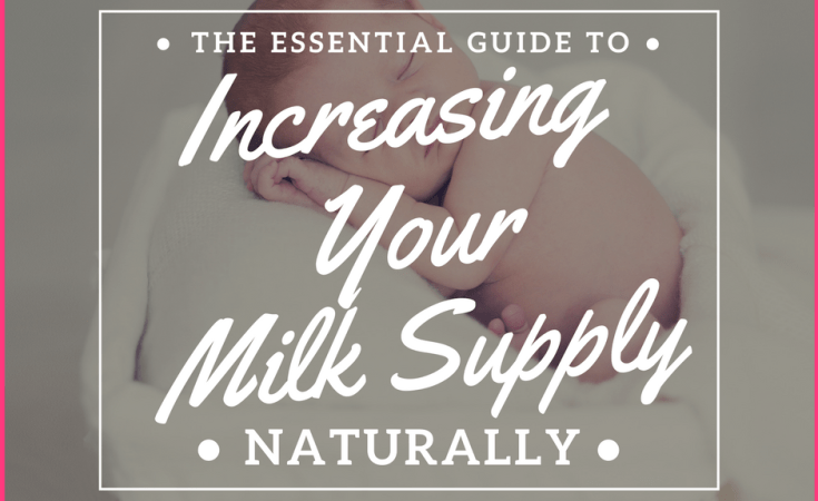 Increase your milk supply