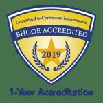BHCOE 2019-2020 Accreditation