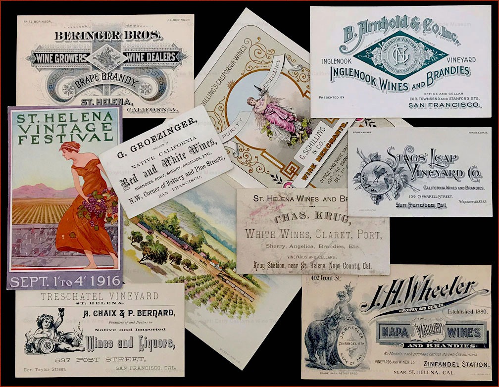 Pre-Prohibition trade cards