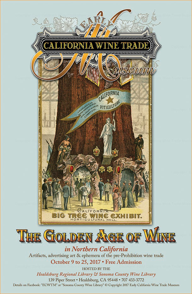 Exhibition poster: The Golden Age of Wine