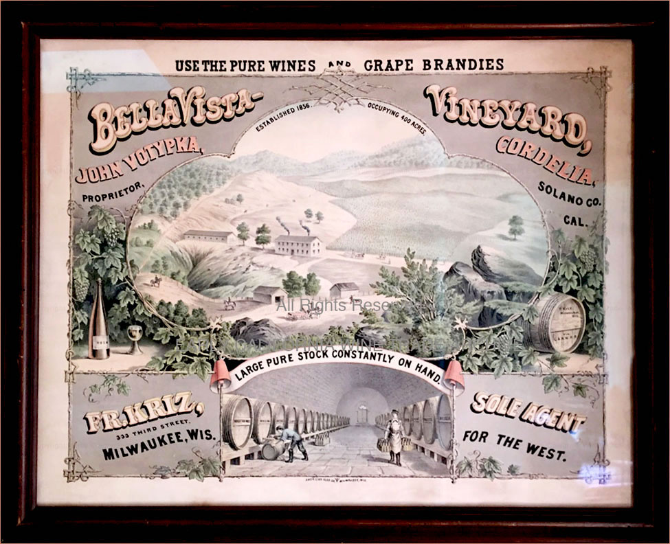 Large rare color lithograph sign