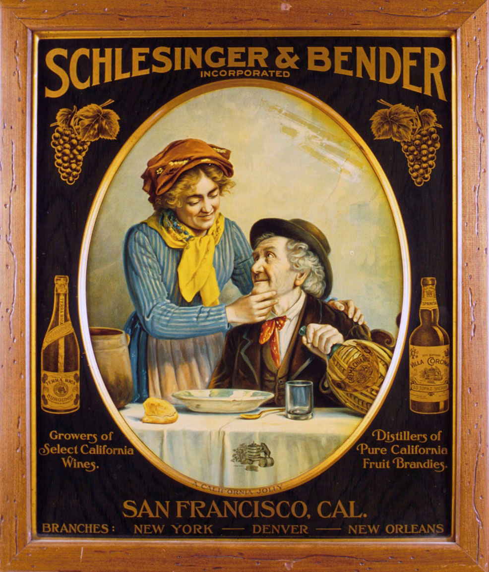 Large litho on tin sign 1904