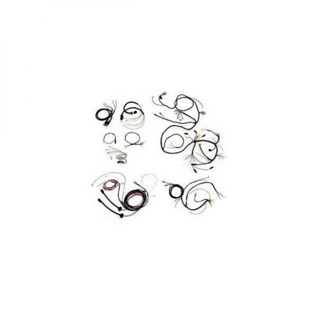 Chevy Wiring Harness Kit, V8, Automatic Transmission, With