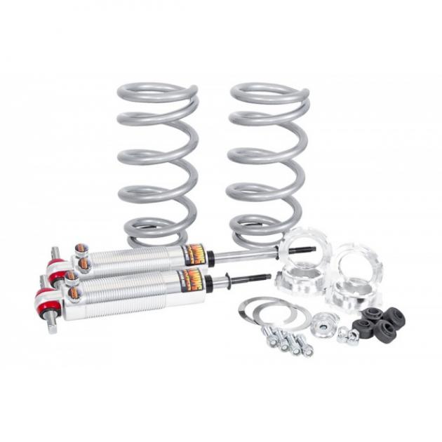 Chevy Shocks, Front, Coil-Over Dual Adjustable, 250 Lbs