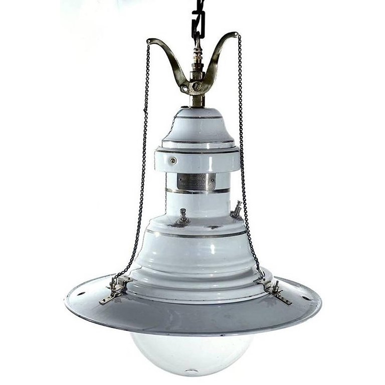 Welsbach Gas Arc Lamp  Early Electrics