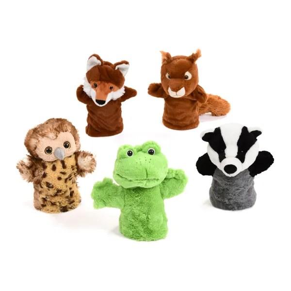 british wildlife hand puppet