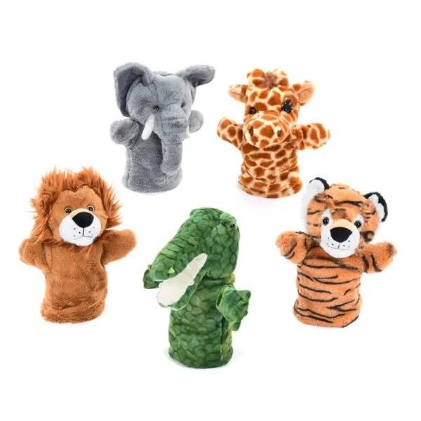 wild animal hand puppet
