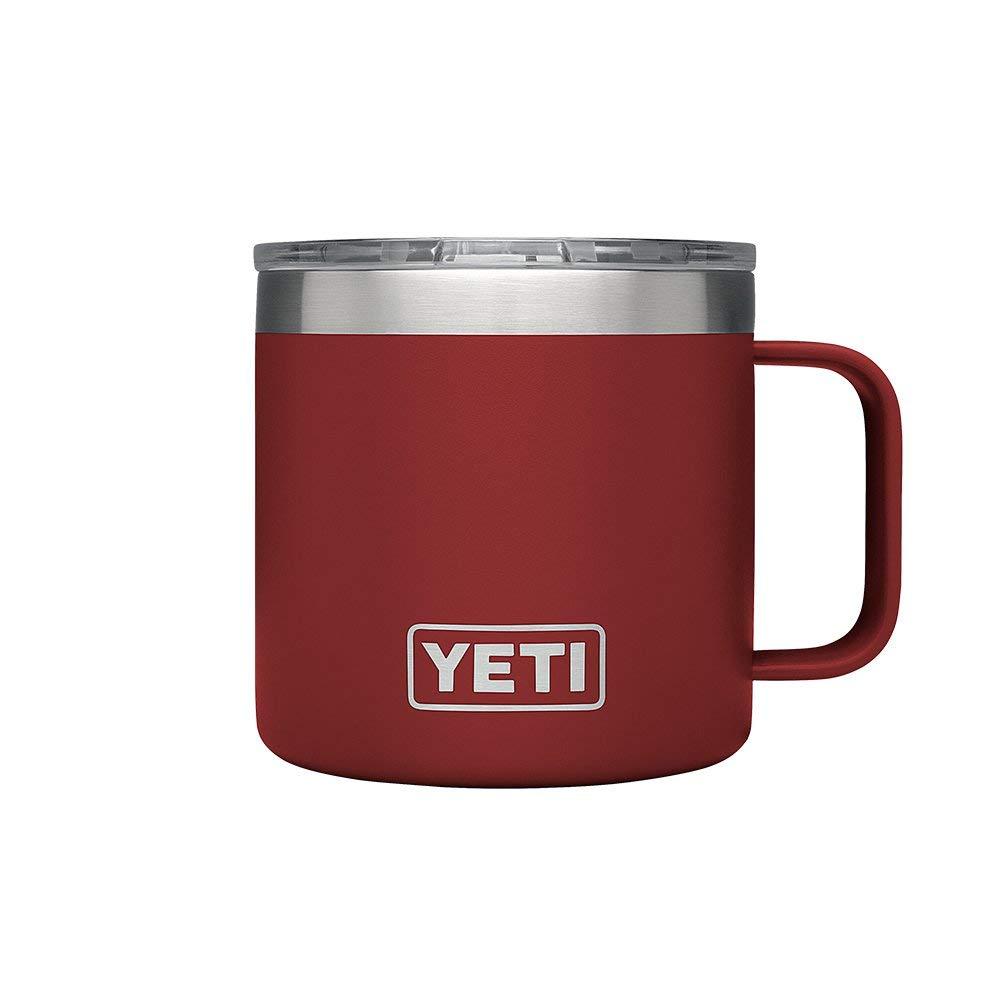 YETI Rambler 14 oz Stainless Steel Vacuum Insulated Mug w/Lid