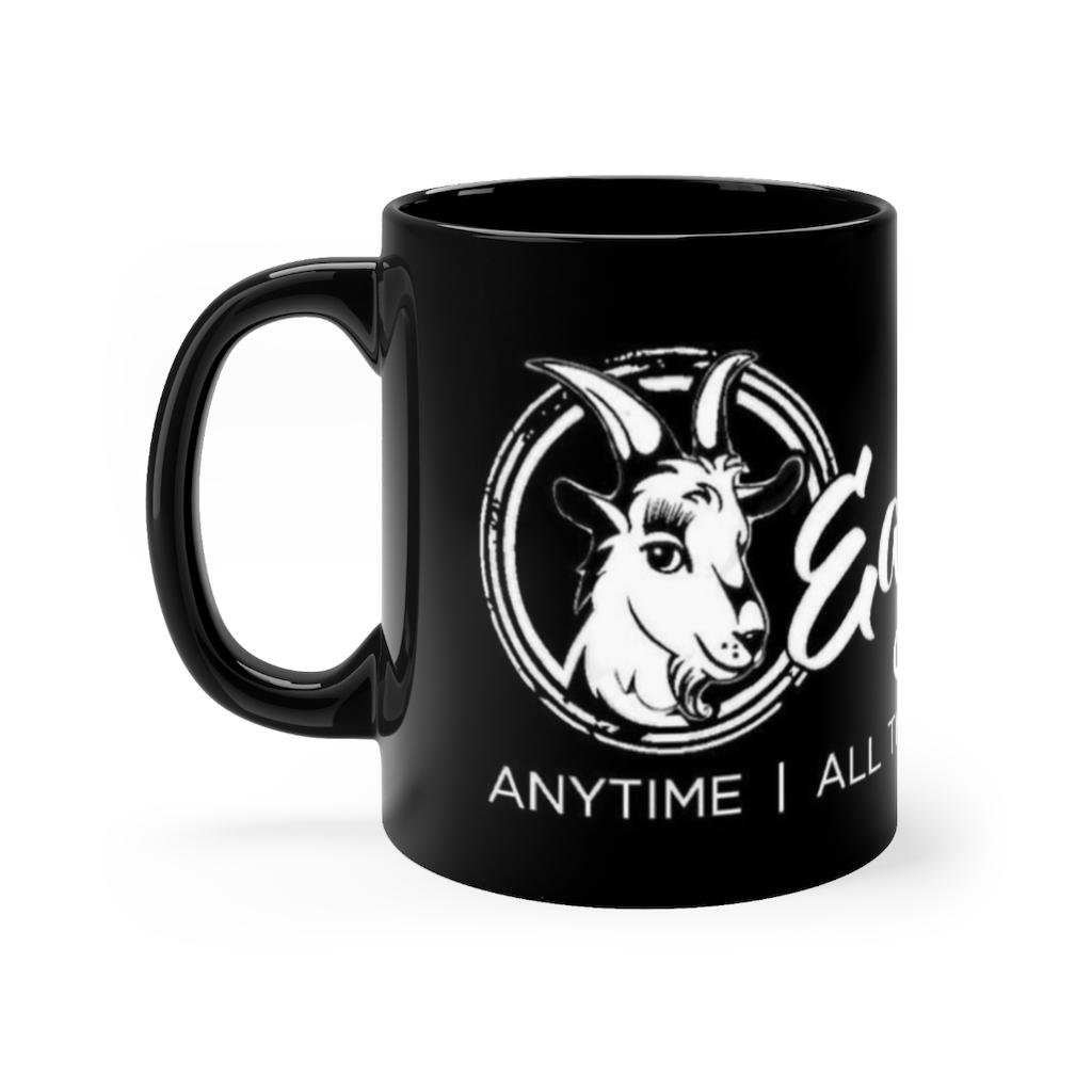 Branded Black mug – 11oz