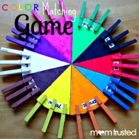 How to Make this Color Matching Game for your Preschooler ...