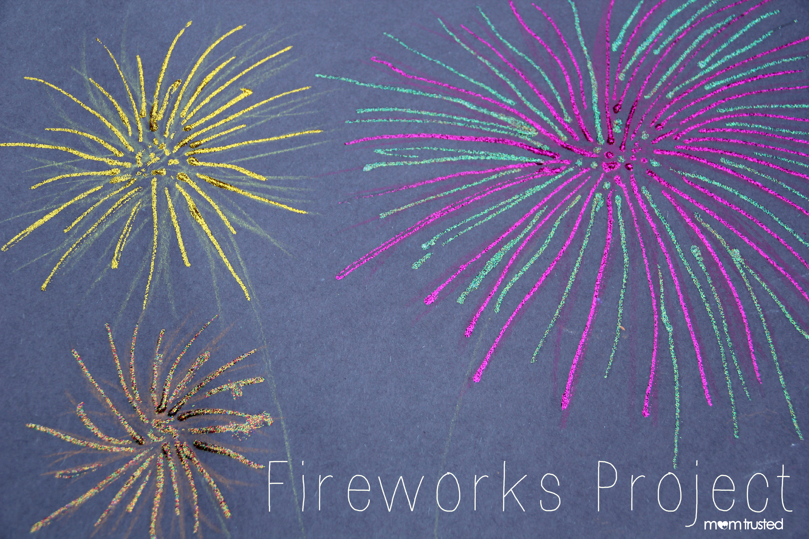 4th Of July Fireworks Art Projectpreschool Activities And Printables