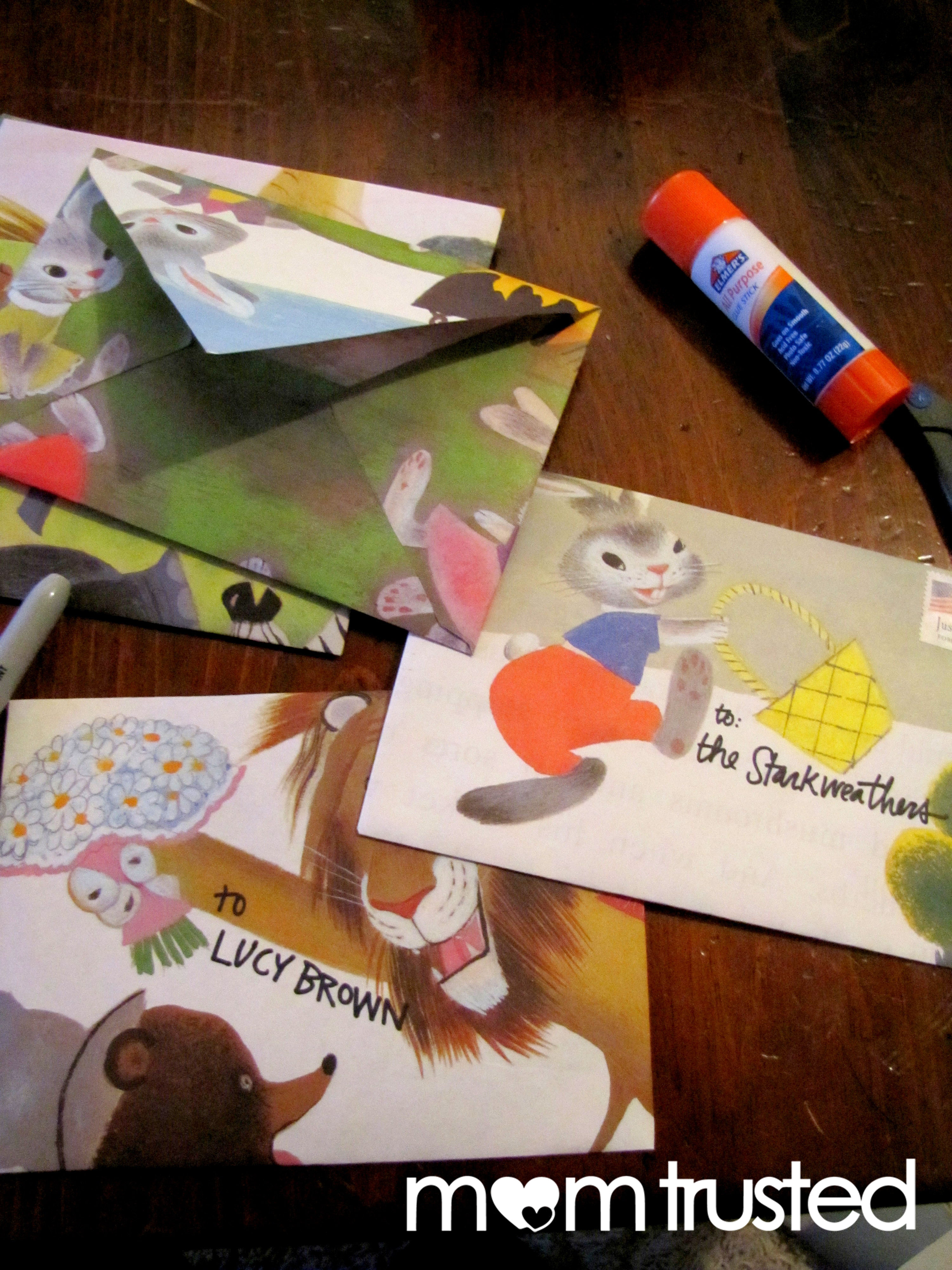Recycled Storybook Stationarypreschool Activities And Printables