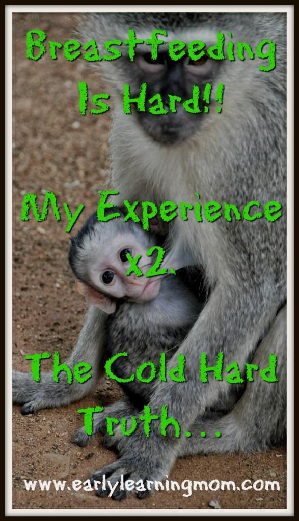Breastfeeding Is Hard!! Breastfeeding Tips. The Cold Hard Truth...