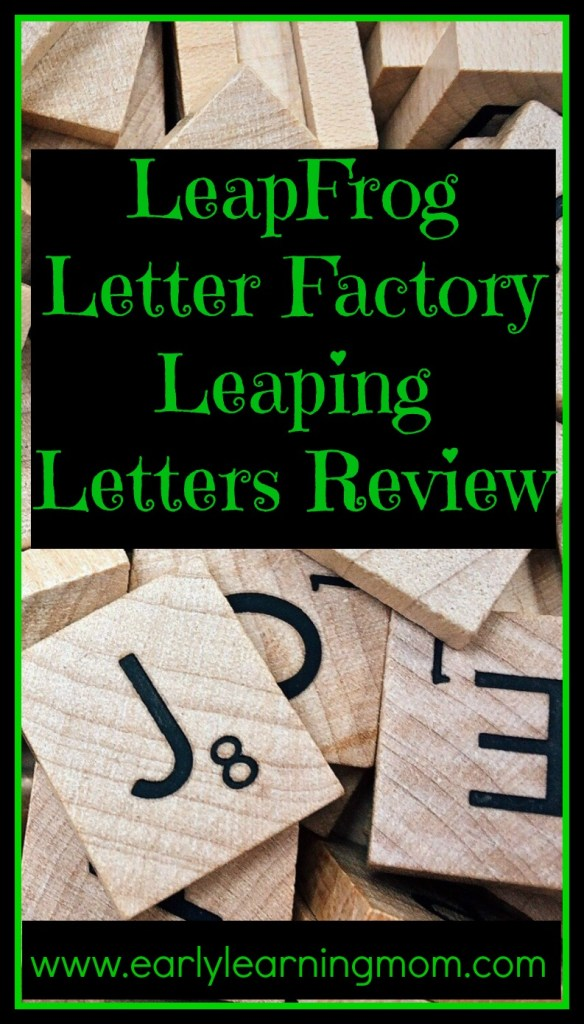 LeapFrog Letter Factory Leaping Letters Review
