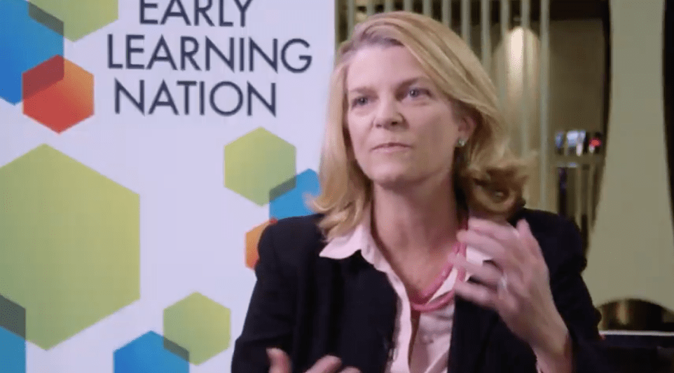 Cynthia McCaffrey, director of UNICEF's Office of Innovation, describes the logistics, partnerships and new ideas that drive success in global early learning