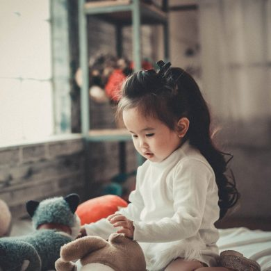 "How can parents choose toys that not only are fun, but also help a child learn? The American Academy of Pediatrics published a report title ""Selecting Appropriate Toys for Young Children in the Digital Era."""