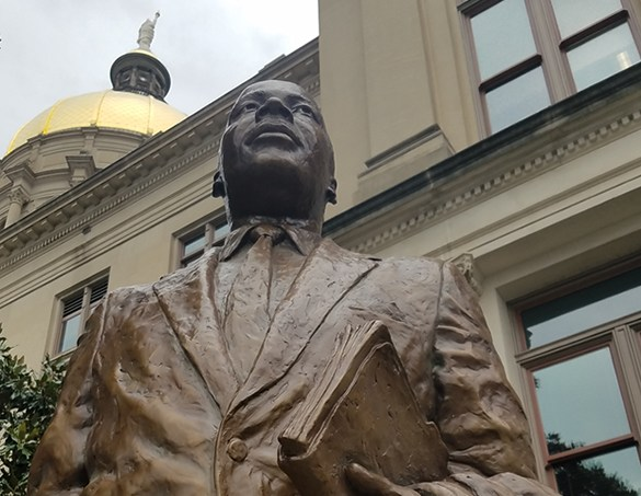 """On Martin Luther King Jr. Day, we are publishing Dr. King's 1947 article written by in the Moorehouse Collegecampus newspaper, the Maroon Tiger titled """"The Purpose of Education."""""""