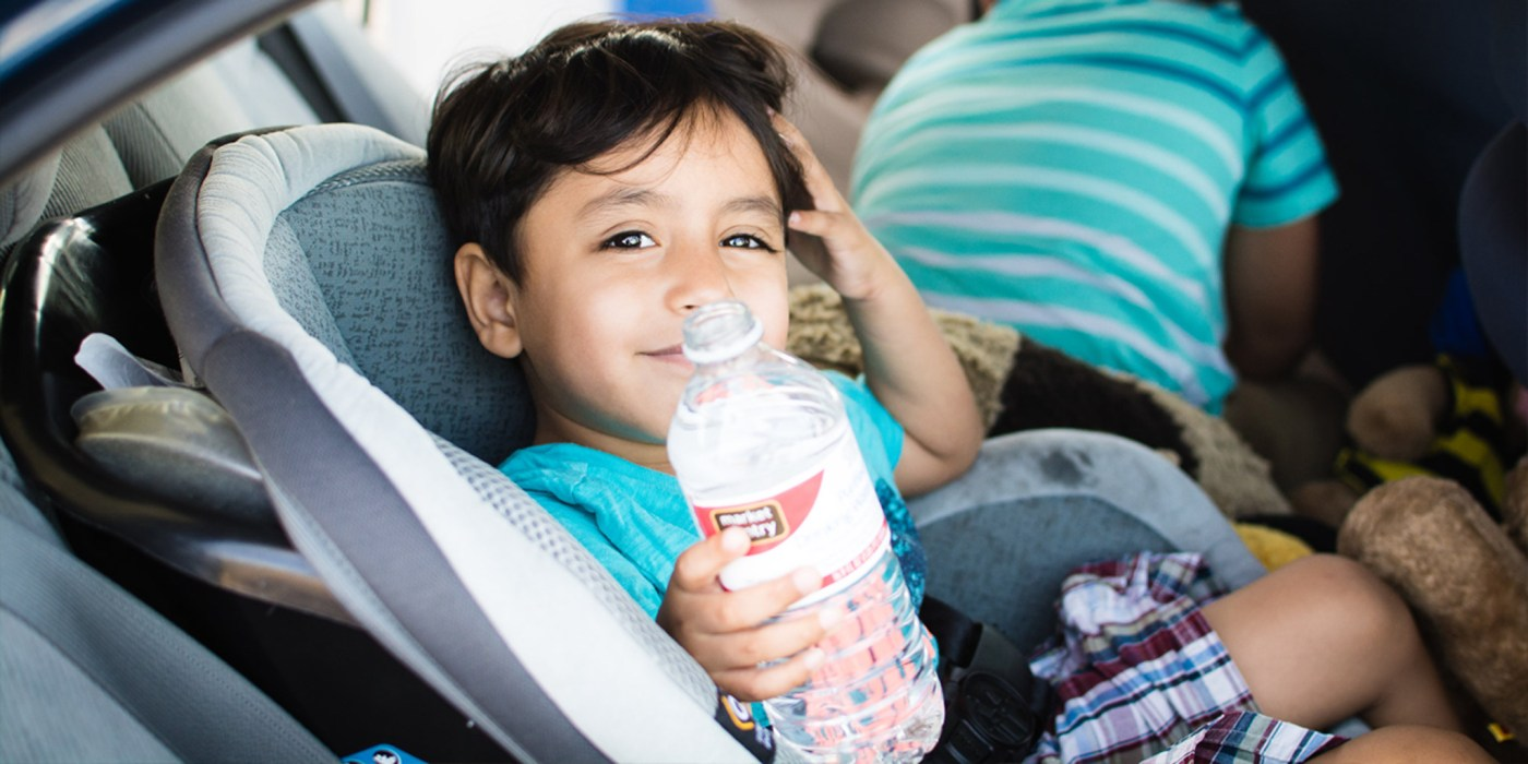Johnny smiling for the camera (CA to TX road trip) by Bryan Guilas on Flickr