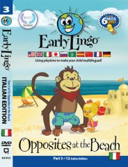 Early Lingo DVD Cover - Part 3 Italian