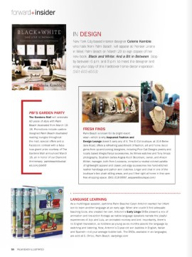 palm beach illustrated magazine features early lingo
