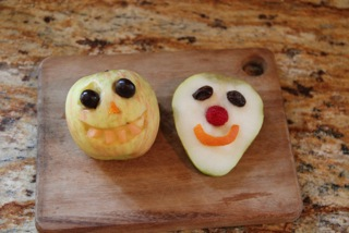 Funny Fruit Faces