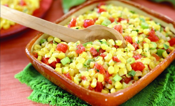 Hot and Sweet Corn Salad