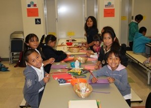 Thanksgiving Workshop with Dolores Huerta School Los Angeles
