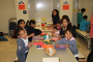 Thanksgiving Workshop kids