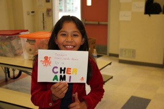 Lizeth - card for Haiti