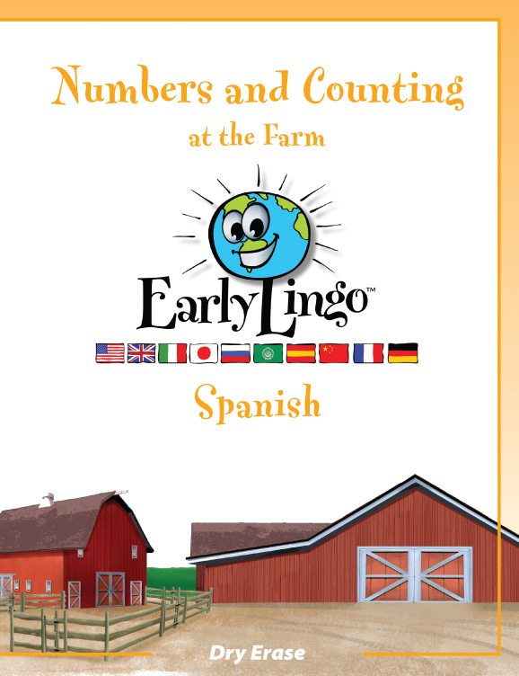 Early Lingo Workbook Numbers and Counting SPANISH