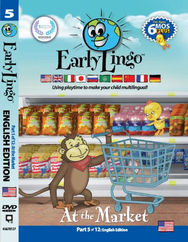 Early Lingo DVD Teach Children English 5