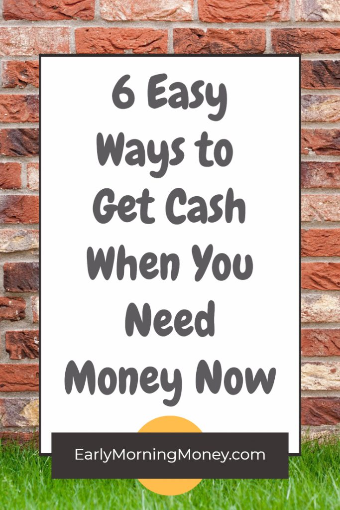 super quick ways to get more cash in your pocket when you need money now!