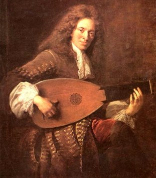 Charles Mouton, c. 1626–1710, one of the influential new wave of French lutenist-composers.