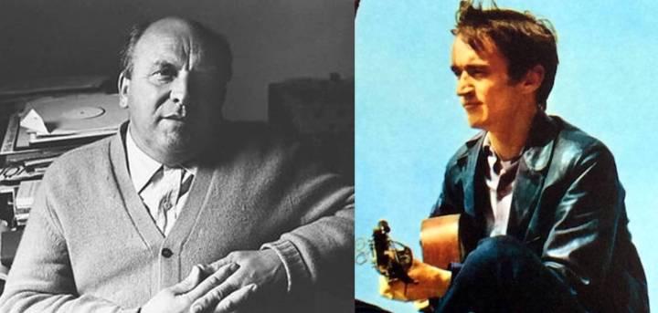 A. L. Lloyd and Martin Carthy.
