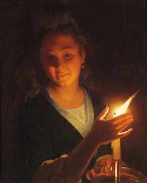 WomanWithACandle.GodfriedSchalcken1643-1706
