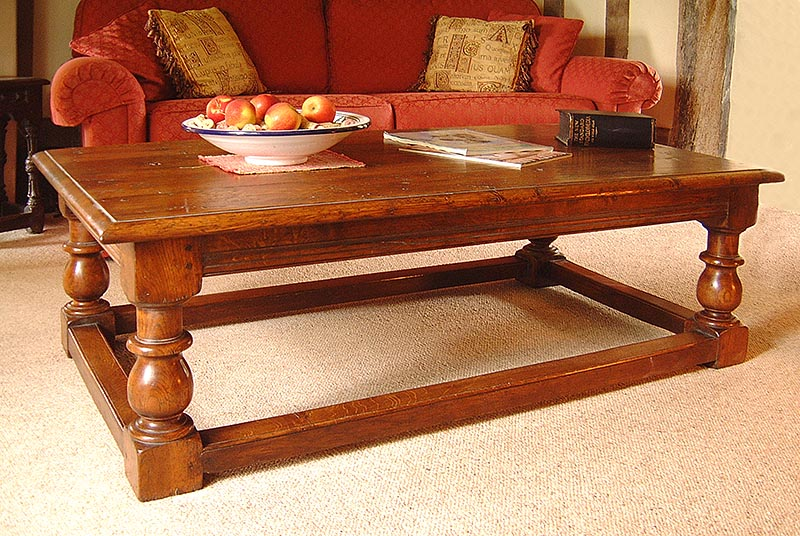 How One Of Our Bespoke Oak Coffee Table Designs Evolved